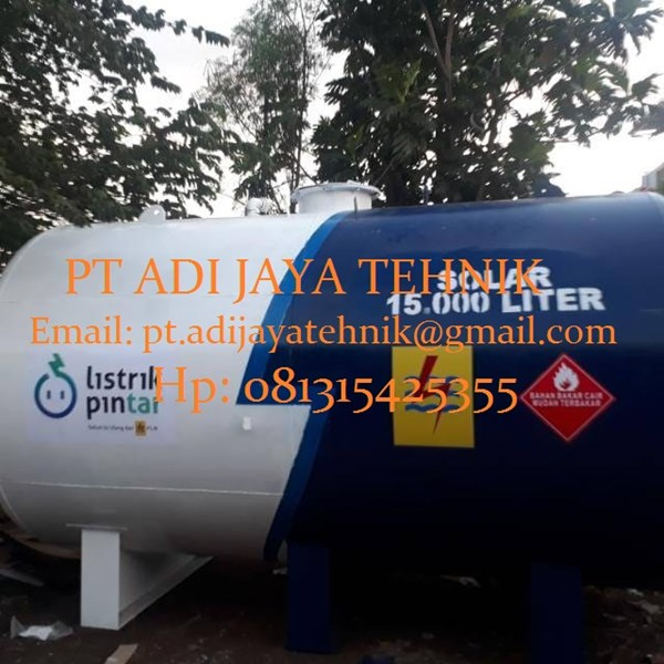 TANGKI SOLAR 15000  liter- Harga tangki solar 15000 liter