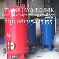 Jual air receiver tank 500 Liter - harga air recei