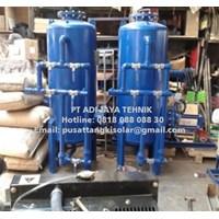 Sand Carbon filter tank 10m3/jam 500 liter jakarta surabaya