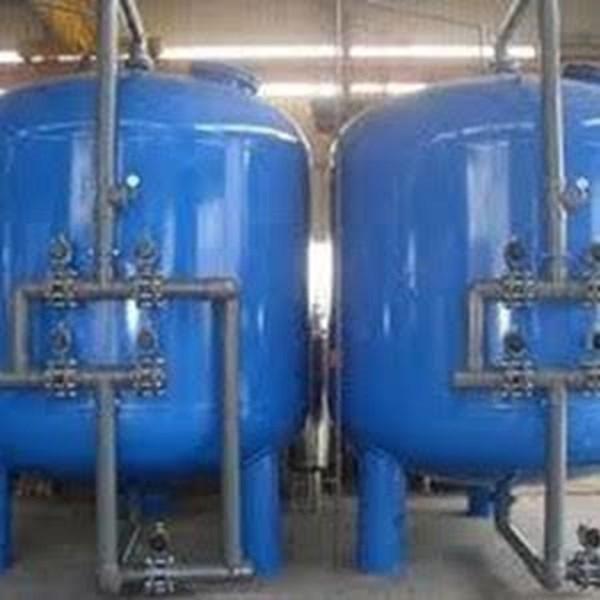 Sand Carbon filter tank 20m3/jam 1000 Liter Berkualitas
