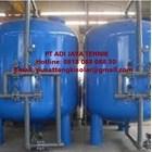 Tangki sand filter tank 5m/jam 250 liter Carbon filter tank 5m3/jam 500 liter SAND CARBON FILTER TANK 5m3/jam 2