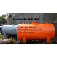 TANGKI SOLAR 5000 LITER - UKURAN TANGKI SOLAR 5000