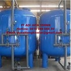 Tangki Filter Air Sand Carbon Filter 25M3/Jam 1200 Liter  2