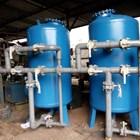 SAND FILTER DAN CARBON FILTER TANK 30m3/jam 1500 liter  2