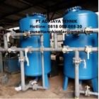 SAND FILTER DAN CARBON FILTER TANK 30m3/jam 1500 liter  1