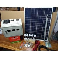 Jual Paket Solar Panel / Solar Cell (Solar Home System) 50 WP 2