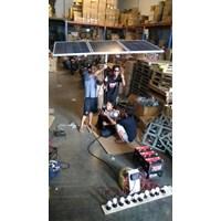 Distributor Paket Solar Panel / Solar Cell 80 WP ( Solar Home System ) PLTS 3