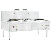 KWALI RANGE BLOWER 2 BURNER 2 POT (KW 2B2P)
