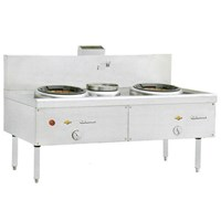 KWALI RANGE BLOWER 2 BURNER 1 POT (KW 2B1P) 1