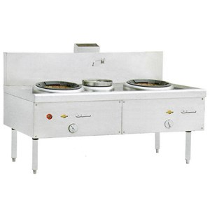 KWALI RANGE BLOWER 2 BURNER 1 POT (KW 2B1P)