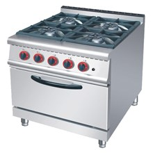 GAS LOW RANGE 4 BURNER WITH OVEN (RQ 4)