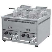Jual GAS FRYER 2 TANK (2 x 16L) WITH THERMOSTHAT (REF 72A)
