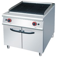 GAS CHARCOAL GRILL WITH CABINET (RH) 1