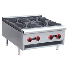 GAS LOW RANGE 4 BURNER (RB 4)