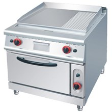 GAS GRIDDLE WITH OVEN (RU)