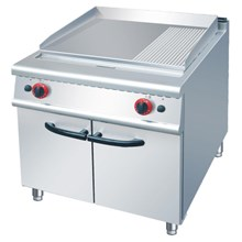 GAS GRIDDLE WITH CABINET (RG)