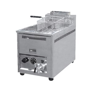 GAS FRYER 1 TANK (16L) WITH THERMOSTHAT (REF 71A)