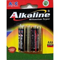 Jual Battery ABC Alkaline AAA
