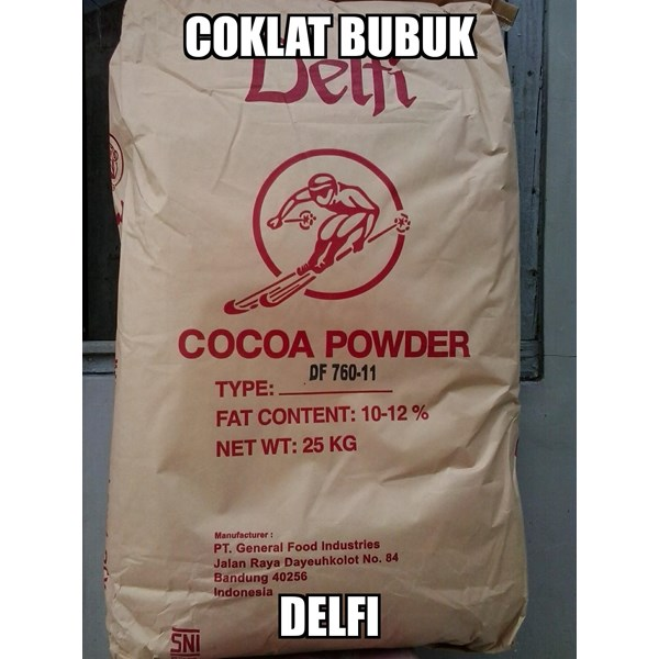 Coklat Bubuk Delfi