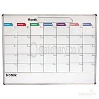 Jual Papan Whiteboard Kalender Kustom