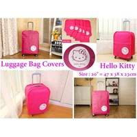 Jual Cover Koper 20 Inch Motif Hello Kitty
