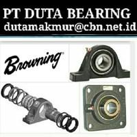 BROWNING MOUNTED BALL BEARINGS PILLOW BLOCK PT DUTA BEARING BROWNING 1