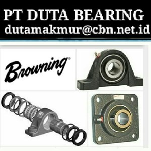 BROWNING MOUNTED BALL BEARINGS PILLOW BLOCK PT DUTA BEARING BROWNING