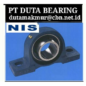 NIS BEARING PT DUTA BEARING  - NIS BEARING BALL ROLLER NIS PILLOW BLOCK NIS JAKARTA
