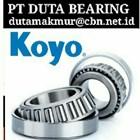 KOYO BEARINGS ROLLER BALL PT DUTA BEARING SHPERICALL TAPER BEARING KOYO 1
