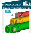 GWB DRIVE CARDAN SHAFTS PT SARANA GARDAN - GWB JOINT SHAFT CROSS JOINT FLANGE YOKE GWB  1