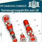 GWB DRIVE CARDAN SHAFTS PT SARANA GARDAN - GWB JOINT SHAFT CROSS JOINT FLANGE YOKE GWB  2