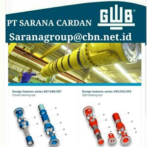 GWB DRIVE CARDAN SHAFTS PT SARANA GARDAN - GWB JOINT SHAFT CROSS JOINT FLANGE YOKE GWB TUBE YOKE