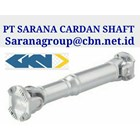 GKN DRIVE CARDAN SHAFTS PT SARANA GARDAN - GKN JOINT SHAFT CROSS JOINT FLANGE YOKE GKNTUBE YOKE PT SARANA JOINT 1