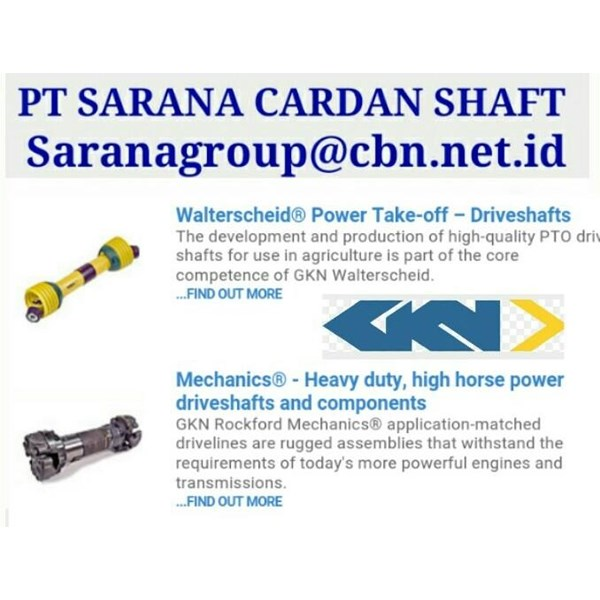 UNIVERSAL JOINT GKN DRIVE CARDAN SHAFTS PT SARANA GARDAN - GKN JOINT SHAFT CROSS JOINT FLANGE YOKE GKNTUBE YOKE