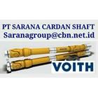 VOITH UNIVERSAL JOINY DRIVE CARDAN SHAFT PT SARANA GARDAN - VOITH JOINT SHAFT CROSS JOINT FLANGE YOKE GWB 2