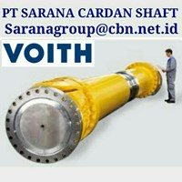 VOITH UNIVERSAL JOINY DRIVE CARDAN SHAFT PT SARANA GARDAN - VOITH JOINT SHAFT CROSS JOINT FLANGE YOKE GWB