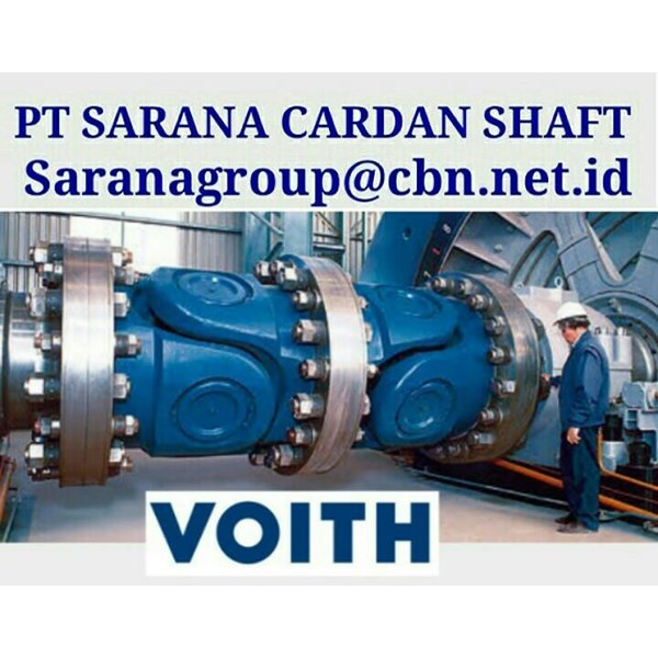 VOITH DRIVE CARDAN SHAFTS PT SARANA GARDAN - TURBO HIGH PERFORMACE  VOITH JOINT SHAFT CROSS JOINT FLANGE YOKE VOITH