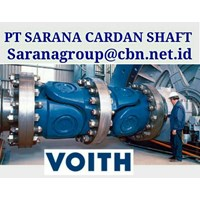 VOITH DRIVE CARDAN SHAFTS PT SARANA GARDAN - TURBO HIGH PERFORMACE  VOITH JOINT SHAFT CROSS JOINT FLANGE YOKE VOITH CARDAN