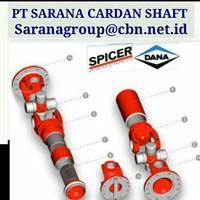 DANA SPICER UNIVERSAL JOINY DRIVE CARDAN SHAFT PT SARANA GARDAN - VOITH JOINT SHAFT CROSS JOINT FLANGE YOKE DANA SPICER