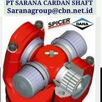 DANA SPICER HIGH PERFOMANCE TURBO UNIVERSAL JOINT DRIVE CARDAN SHAFTS PT SARANA GARDAN - DANA SPICER JOINT SHAFT CROSS JOINT FLANGE YOKE  1