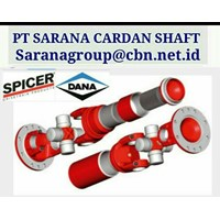 Jual DANA SPICER HIGH PERFOMANCE TURBO UNIVERSAL JOINT DRIVE CARDAN SHAFTS PT SARANA GARDAN - DANA SPICER JOINTS SHAFT CROSS JOINT FLANGE YOKE 2