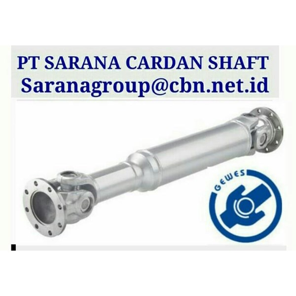 GEWES  UNIVERSAL JOINY DRIVE CARDAN DRIVES SHAFT PT SARANA GARDAN - GEWES  JOINT SHAFT CROSS JOINT FLANGE YOKE GEWES