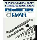 KYOWA UNIVERSAL JOINT PRECISION JOINT PT SARANA UNIVERSAL JOINT KYOWA SINGLE & DOUBLE 1