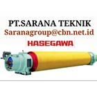 HASEGAWA SUCTION ROLL FOR PULP PAPER TECHNIQUES OF PT SARANA 1