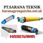 HASEGAWA SUCTION ROLL FOR PULP PAPER TECHNIQUES OF PT SARANA 2