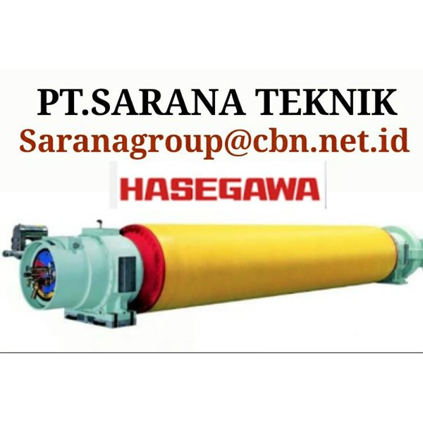 HASEGAWA SUCTION ROLL FOR PULP PAPER TECHNIQUES OF PT SARANA