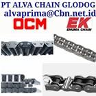 OCM EK ROLLER CHAIN  PT ALVA CHAIN GLODOK CONVEYOR SPROCKET 2