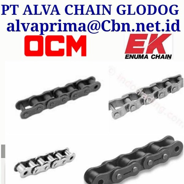 OCM EK ROLLER CHAIN  PT ALVA CHAIN GLODOK CONVEYOR