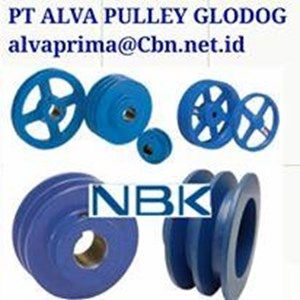 NBK PULLEY TYPE A B C PT ALVA PULLEY GLODOK NBK KOPLING MESIN