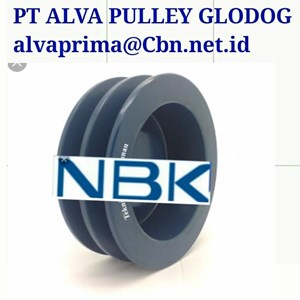 TYPE ABC NBK PULLEY PT ALVA PULLEY GLODOK NBK KOPLING MESIN